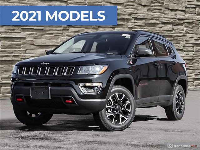 2021 Jeep Compass Trailhawk (Stk: J4222) in Brantford - Image 1 of 27