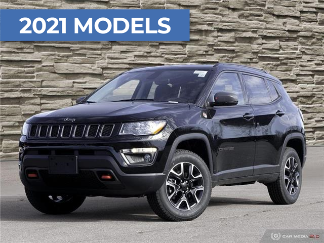 2021 Jeep Compass Trailhawk (Stk: J4242) in Brantford - Image 1 of 30