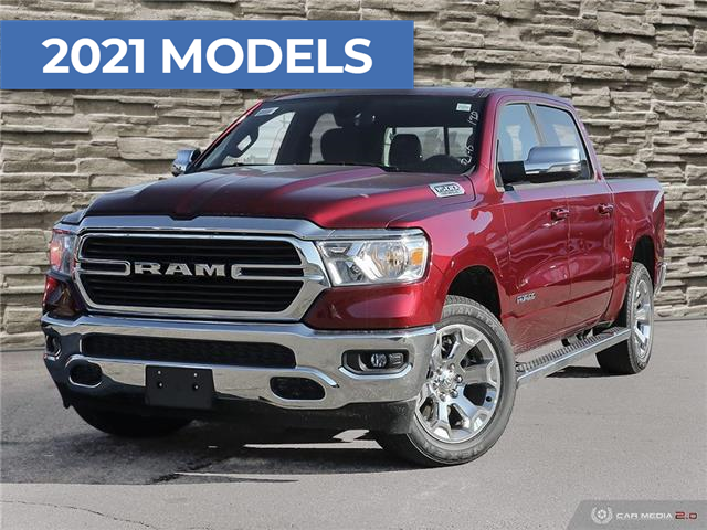 2021 RAM 1500 Big Horn (Stk: T8807) in Brantford - Image 1 of 27