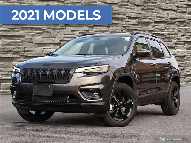 2021 Jeep Cherokee Altitude (Stk: J4258) in Brantford - Image 1 of 27