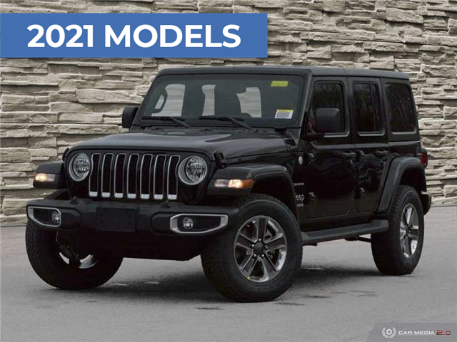 2021 Jeep Wrangler Unlimited Sahara (Stk: M2039) in Welland - Image 1 of 27