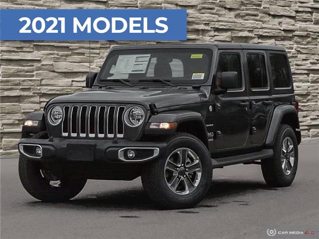 2021 Jeep Wrangler Unlimited Sahara (Stk: M2040) in Welland - Image 1 of 27