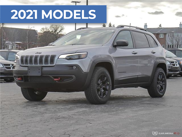 2021 Jeep Cherokee Trailhawk (Stk: M1106) in Hamilton - Image 1 of 30