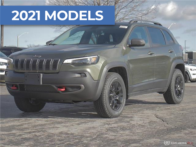 2021 Jeep Cherokee Trailhawk (Stk: M1105) in Hamilton - Image 1 of 29