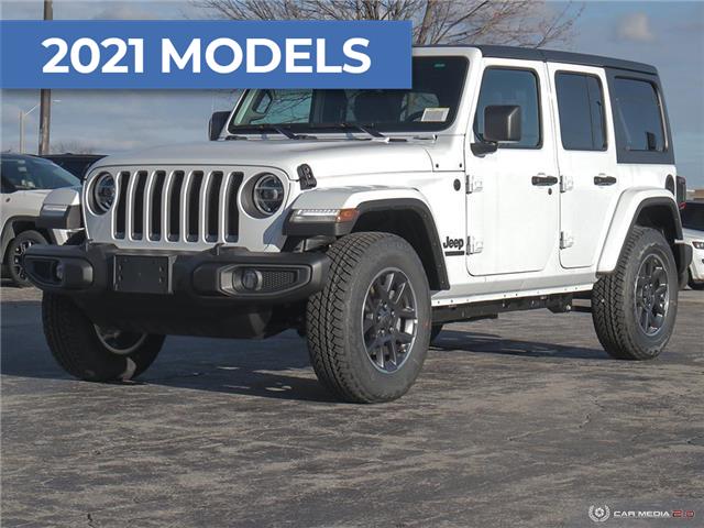 2021 Jeep Wrangler Unlimited Sport (Stk: M1104) in Hamilton - Image 1 of 30