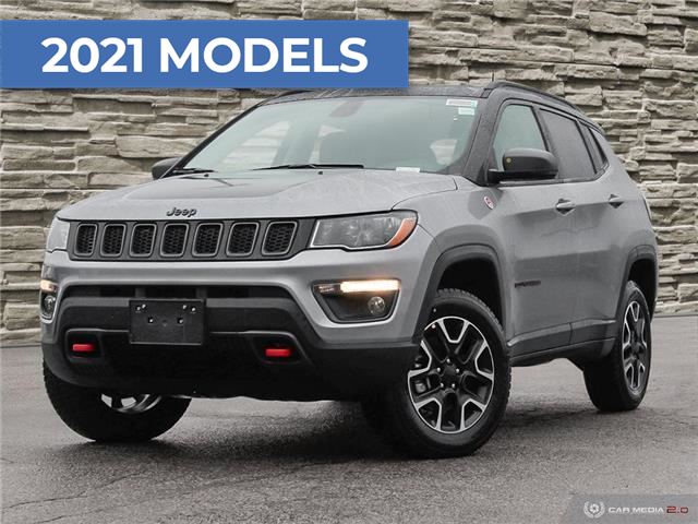 2021 Jeep Compass Trailhawk (Stk: J4275) in Brantford - Image 1 of 25