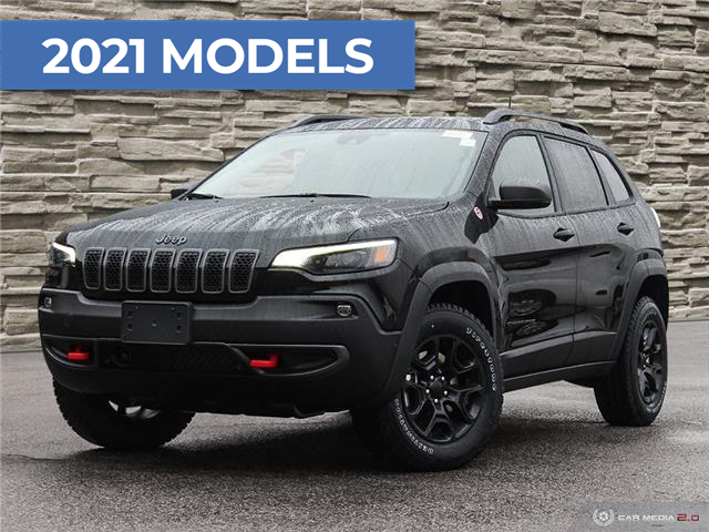 2021 Jeep Cherokee Trailhawk (Stk: J4276) in Brantford - Image 1 of 26