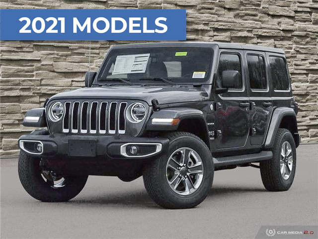 2021 Jeep Wrangler Unlimited Sahara (Stk: M2055) in Welland - Image 1 of 27