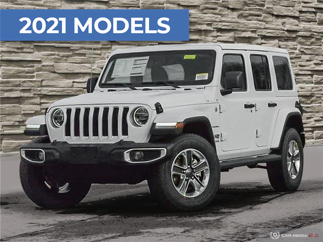 2021 Jeep Wrangler Unlimited Sahara (Stk: M2060) in Welland - Image 1 of 27