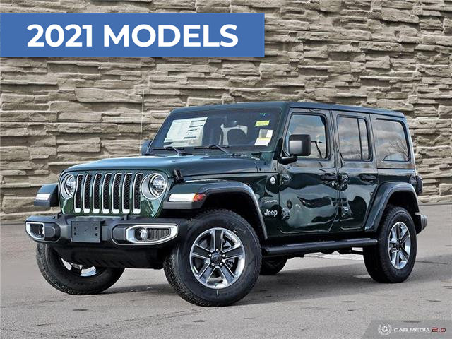 2021 Jeep Wrangler Unlimited Sahara (Stk: M2062) in Welland - Image 1 of 27