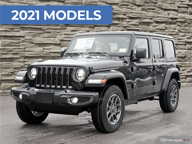 2021 Jeep Wrangler Unlimited Sport (Stk: M1143) in Hamilton - Image 1 of 26