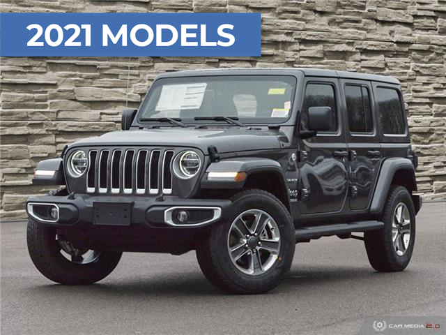2021 Jeep Wrangler Unlimited Sahara (Stk: M2067) in Welland - Image 1 of 27