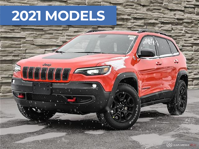 2021 Jeep Cherokee Trailhawk (Stk: J4294) in Brantford - Image 1 of 29