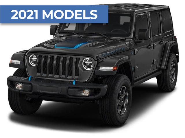 2021 Jeep Wrangler Unlimited 4xe Rubicon (Stk: ) in Brantford - Image 1 of 2