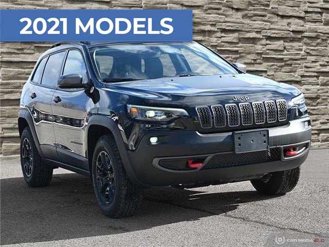2021 Jeep Cherokee Trailhawk (Stk: M1076) in Hamilton - Image 1 of 29