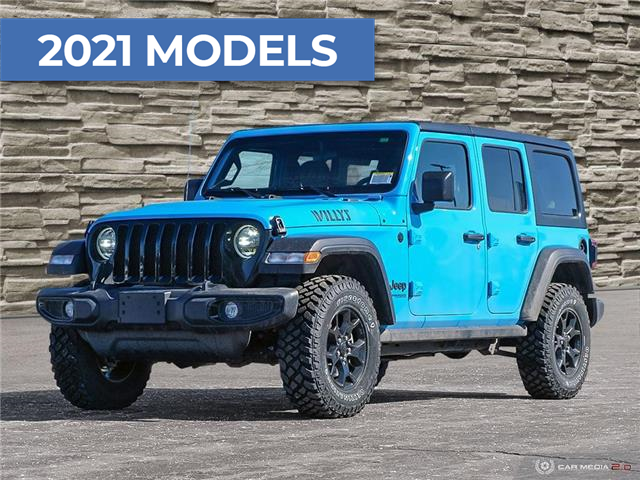 2021 Jeep Wrangler Unlimited Sport (Stk: M1185) in Hamilton - Image 1 of 25