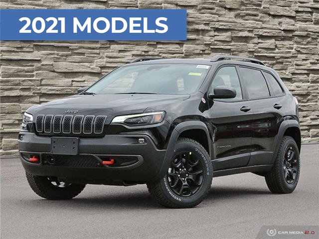2021 Jeep Cherokee Trailhawk (Stk: M2145) in Welland - Image 1 of 27