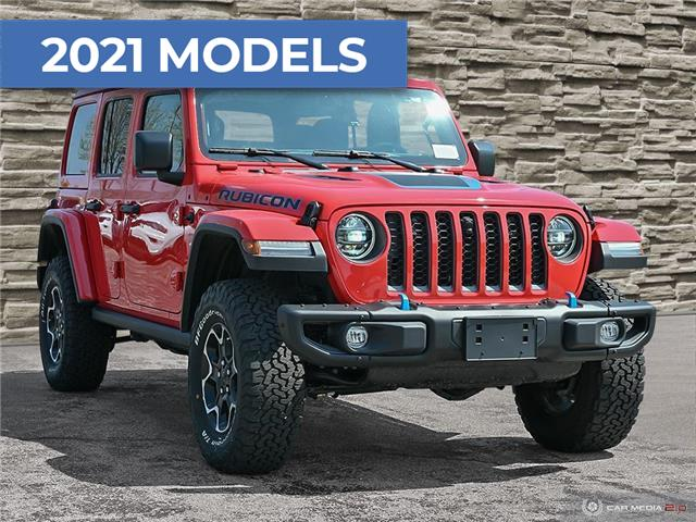 2021 Jeep Wrangler Unlimited 4xe Rubicon (Stk: M1210) in Hamilton - Image 1 of 19