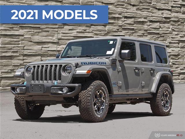 2021 Jeep Wrangler Unlimited 4xe Rubicon (Stk: M1237) in Hamilton - Image 1 of 23