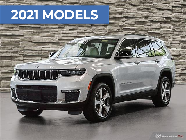 2021 Jeep Grand Cherokee L Limited (Stk: M2212) in Welland - Image 1 of 27