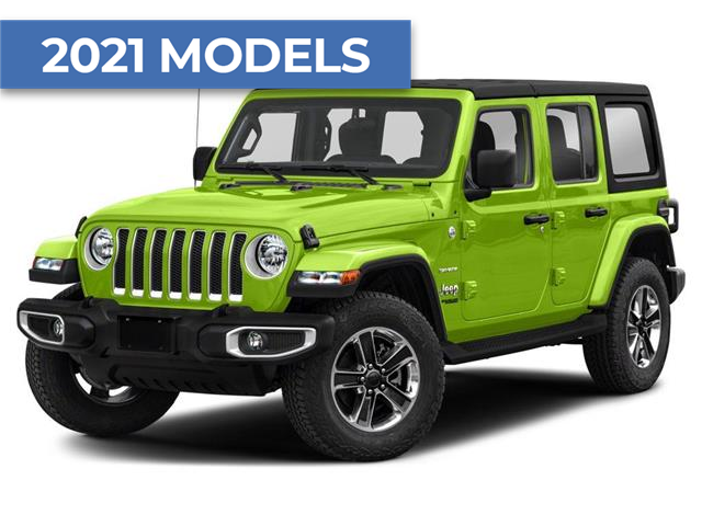 2021 Jeep Wrangler Unlimited Sahara (Stk: ) in Hamilton - Image 1 of 9