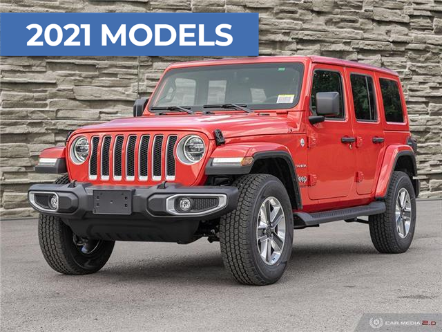 2021 Jeep Wrangler Unlimited Sahara (Stk: M1266) in Hamilton - Image 1 of 28