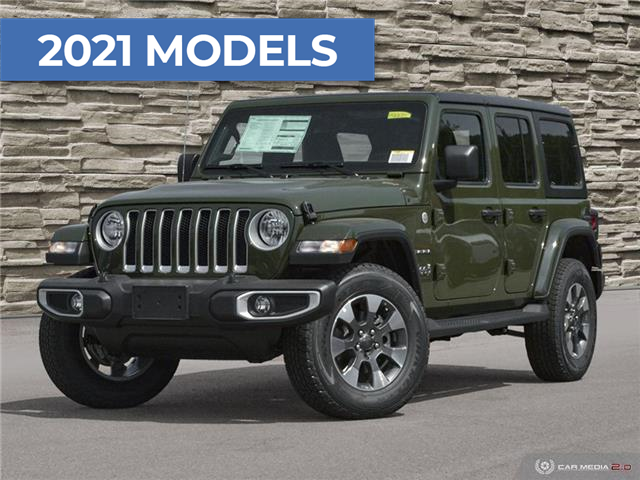 2021 Jeep Wrangler Unlimited Sahara (Stk: M2234) in Welland - Image 1 of 27