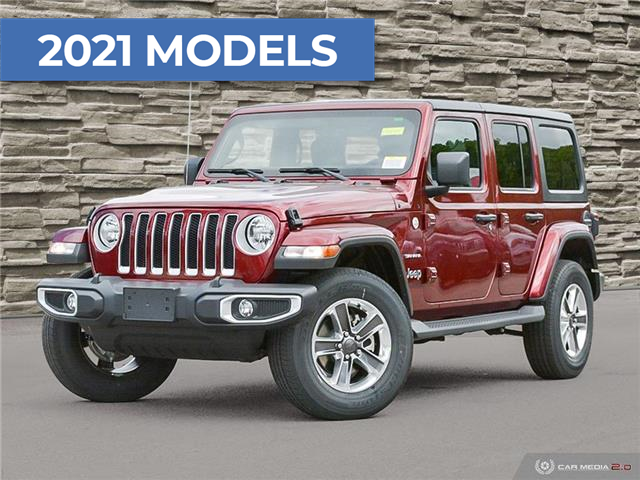 2021 Jeep Wrangler Unlimited Sahara (Stk: M2244) in Welland - Image 1 of 27