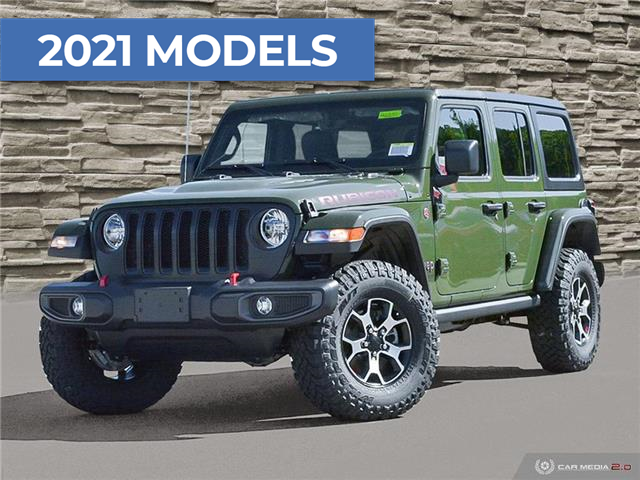 2021 Jeep Wrangler Unlimited Rubicon (Stk: M2251) in Welland - Image 1 of 27