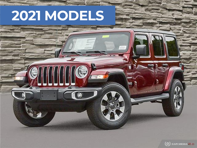 2021 Jeep Wrangler Unlimited Sahara (Stk: M2252) in Welland - Image 1 of 27