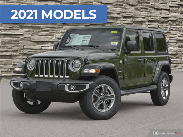 2021 Jeep Wrangler Unlimited Sahara (Stk: M2263) in Welland - Image 1 of 27