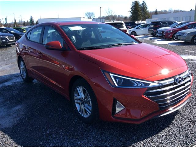 2020 Hyundai Elantra Preferred w/Sun & Safety Package (Stk: R05705) in Ottawa - Image 1 of 13