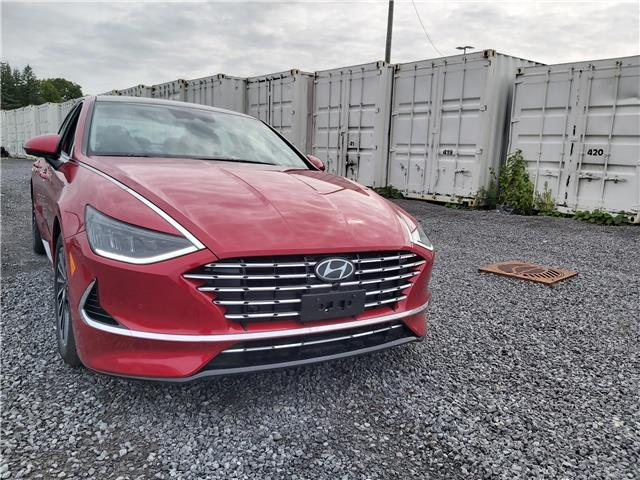 2020 Hyundai Sonata Hybrid Ultimate (Stk: R06615) in Ottawa - Image 1 of 15