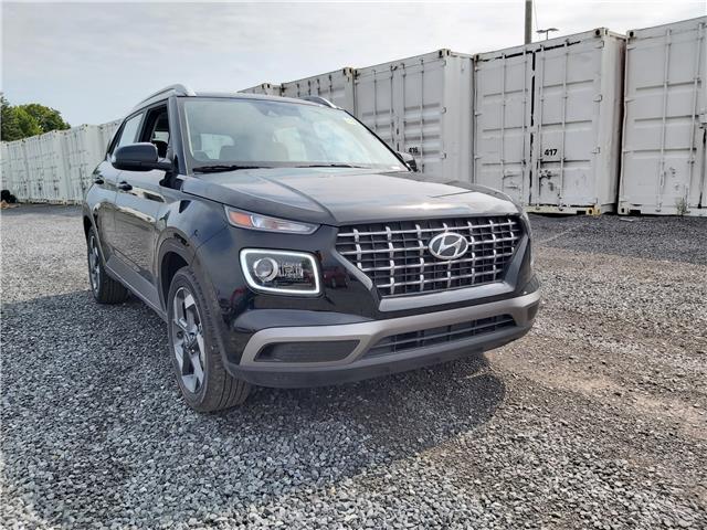 2020 Hyundai Venue Ultimate w/Black Interior (IVT) (Stk: R06802) in Ottawa - Image 1 of 14