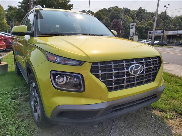 2020 Hyundai Venue Ultimate w/Grey-Lime Interior (Stk: R05947) in Ottawa - Image 1 of 11