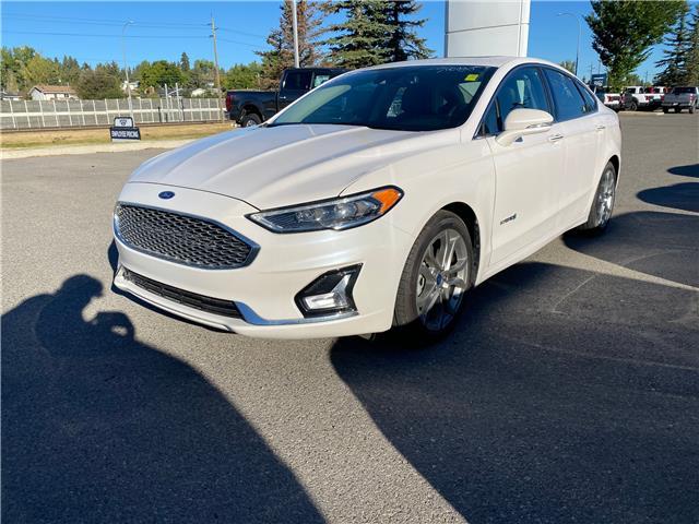 2019 Ford Fusion Hybrid Titanium (Stk: 5730) in Calgary - Image 1 of 26