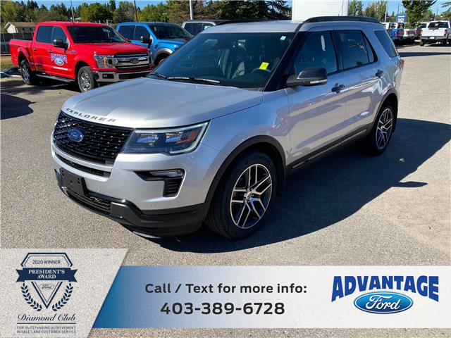 2019 Ford Explorer Sport (Stk: L-446A) in Calgary - Image 1 of 26