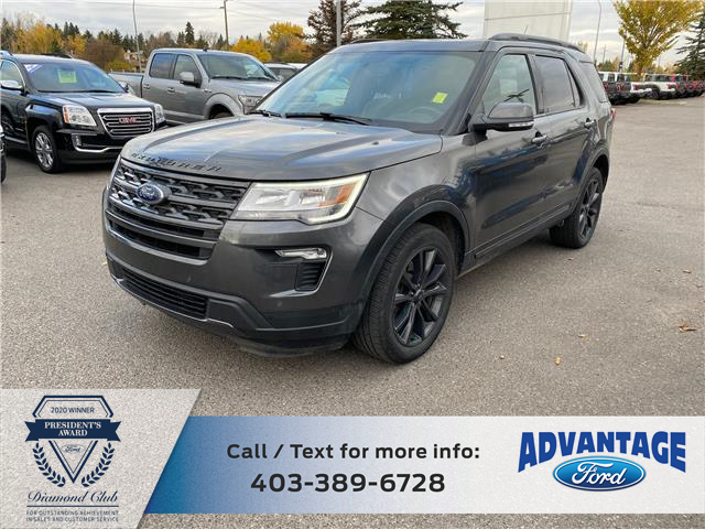 2018 Ford Explorer XLT (Stk: L-244A) in Calgary - Image 1 of 22