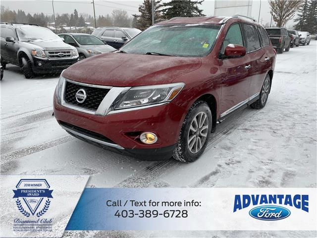 2015 Nissan Pathfinder SL (Stk: L-1252A) in Calgary - Image 1 of 25
