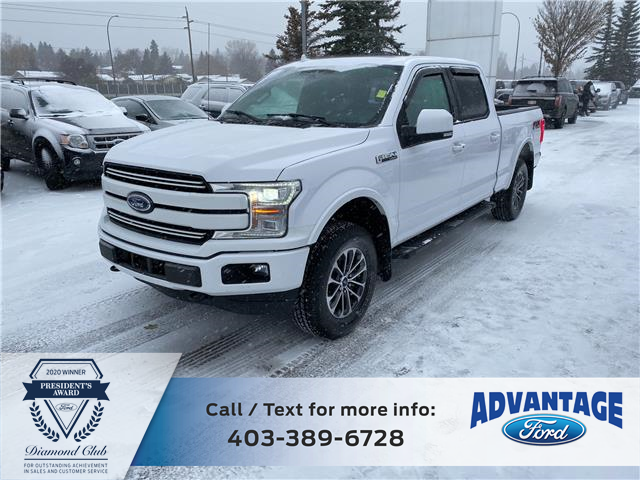 2018 Ford F-150 Lariat (Stk: L-1158A) in Calgary - Image 1 of 21