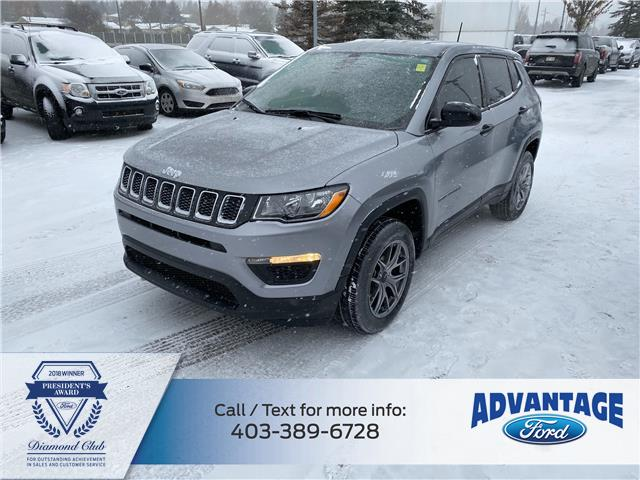 2018 Jeep Compass Sport (Stk: L-840A) in Calgary - Image 1 of 25