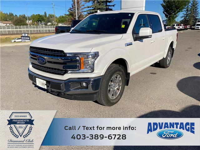2018 Ford F-150 Lariat (Stk: L-1376A) in Calgary - Image 1 of 25