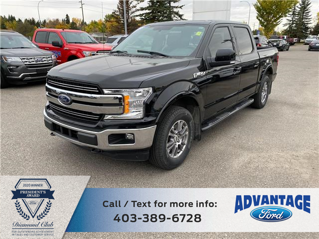 2018 Ford F-150 Lariat (Stk: L-1414A) in Calgary - Image 1 of 12
