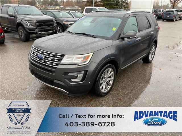 2017 Ford Explorer Limited (Stk: L-1440A) in Calgary - Image 1 of 21