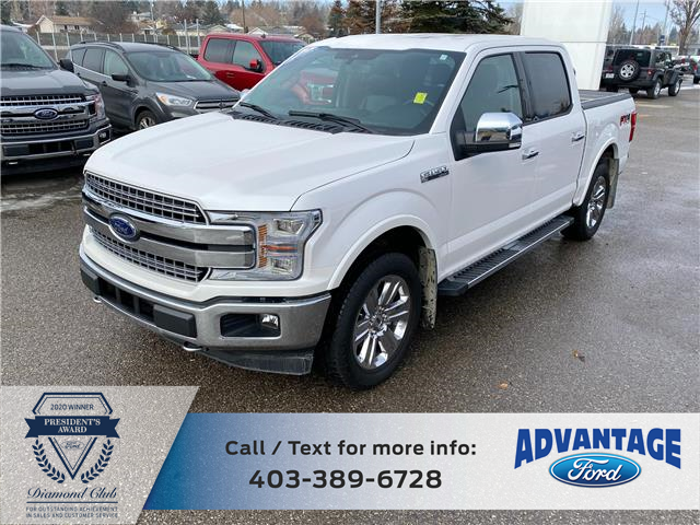 2019 Ford F-150 Lariat (Stk: L-1358A) in Calgary - Image 1 of 48