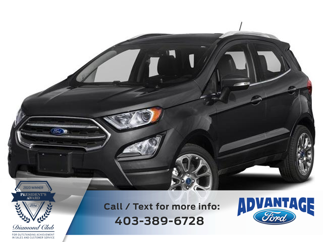 2018 Ford EcoSport Titanium (Stk: L-1622A) in Calgary - Image 1 of 9