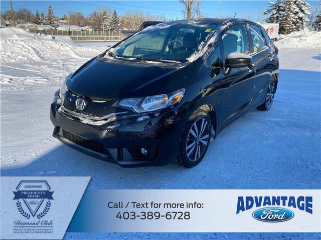 2015 Honda Fit EX-L Navi (Stk: L-1622B) in Calgary - Image 1 of 24