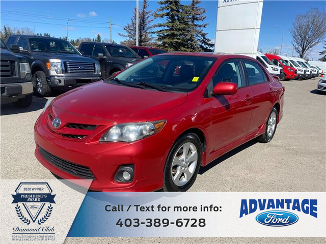 2011 Toyota Corolla S (Stk: M-885A) in Calgary - Image 1 of 20