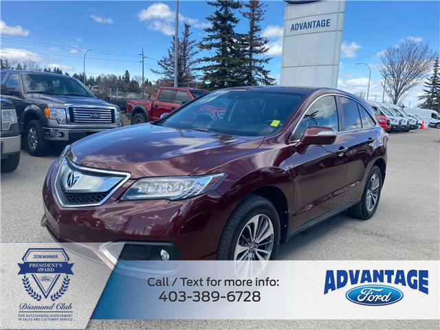 2017 Acura RDX Elite (Stk: M-900A) in Calgary - Image 1 of 21
