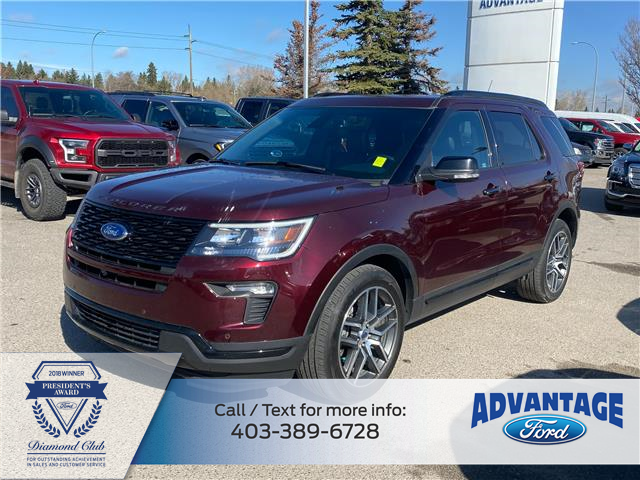 2018 Ford Explorer Sport (Stk: T23775) in Calgary - Image 1 of 20
